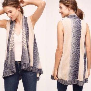 Anthropologie Mabli Wool Sweater Vest